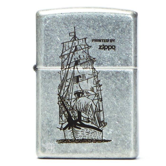 黑羊選物 Zippo 航行帆船 古銀做舊 煤油打火機 美國原廠正品 經典配件 菸友必備 適合送禮 復刻加工