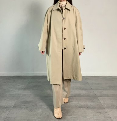 P17 Single-Breasted Trench Coat