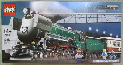 全新 樂高 Lego 10194 Emerald Night Train 火車 1 盒 (靚盒)