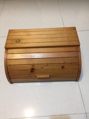 無印風格 木製麵包盒 收納盒 置物箱 28*40*18cm