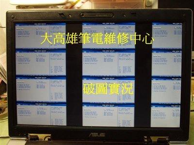 HP/Compaq-dv3000  *大高雄*筆電維修-破圖.花屏.無畫面