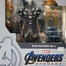 Bandai Marvel Shf Avengers 4 End Game Action Figure War Machine Mark 6 復仇者聯盟