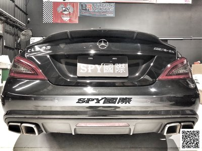 SPY國際 Benz W218 CLS R款 碳纖維尾翼