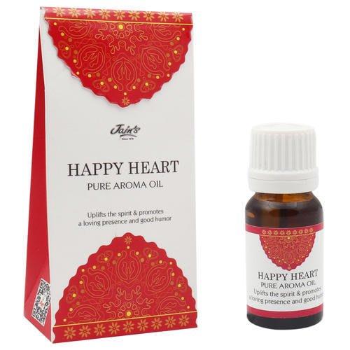 [綺異館]印度香氛精油 快樂心(柑橘+木香 ) 10ml JAIN'S HAPPY HEART 另售印度皂 印度香