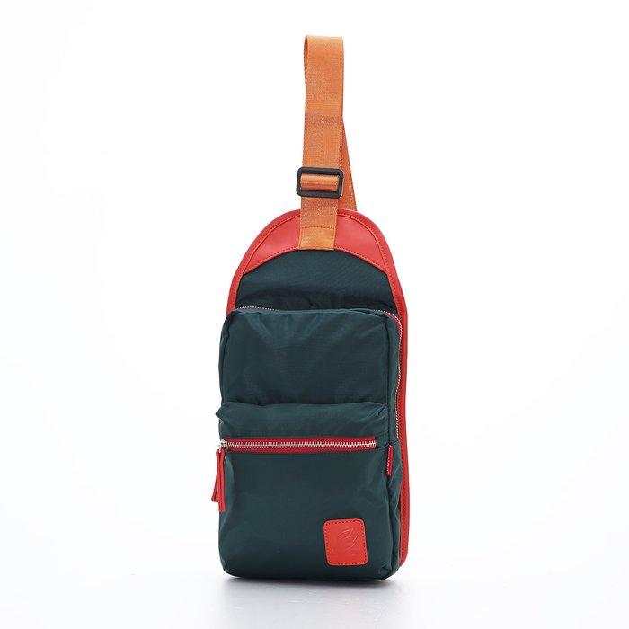 ◎包包的家◎驚艷街頭風格【PORTMAN】時尚繽紛尼龍單肩包(深綠色) PM142126