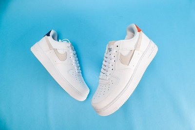 Nike Air Force 1 Inside Out AF1 紅白藍 鴛鴦 斷勾 時尚 滑板鞋 898889-103 情侶鞋