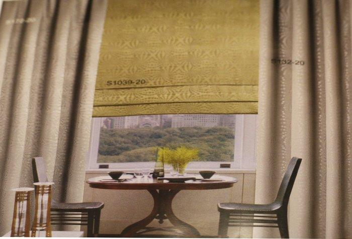 【巧巧窗簾】精品訂製窗簾、 鋁質百葉窗、木織簾、羅馬簾、防火捲簾、直立百葉、浪漫花沙、各式歐式造型、門簾、桌巾、傢飾