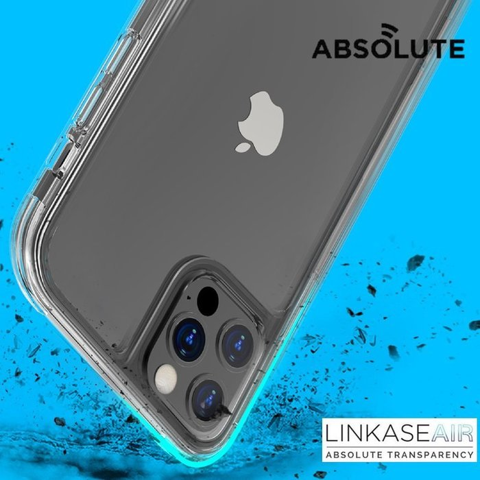 LINKASE AIR iPhone 12 mini / Pro Max 康寧玻璃 ADM專利抗黃塑料軍規防摔殼 喵之隅