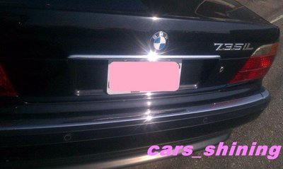 BMW 寶馬 七系列 E38 728 735 後車箱飾條 鍍絡精品