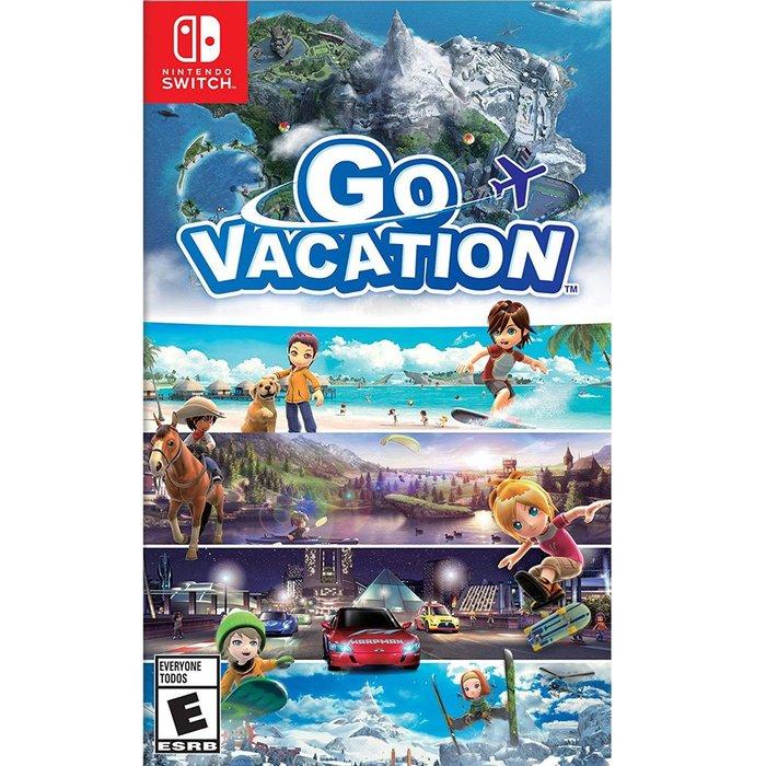 (現貨全新) NS SWITCH 歡樂假期 英文美版  Go Vacation