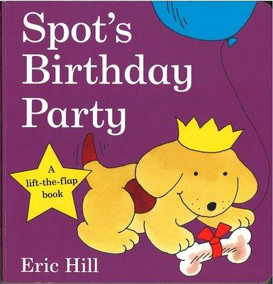 *小貝比的家*SPOT'S BIRTHDAY PARTY/硬頁書/2-3歲幼幼班/翻翻書
