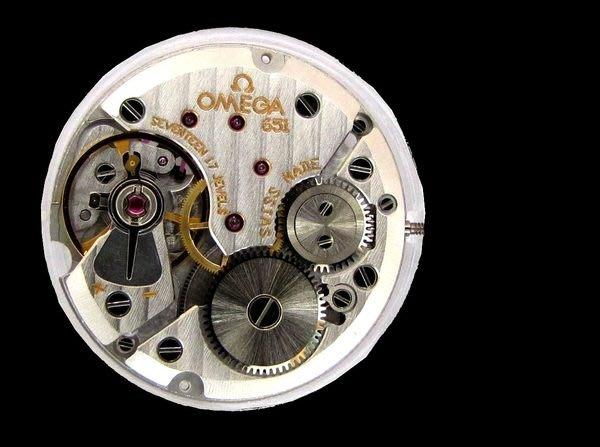 (瑪奇亞朵的珠寶世界) 真品 OMEGA 歐米茄男錶 手動上鍊機械錶 17石全新機心 特價起標