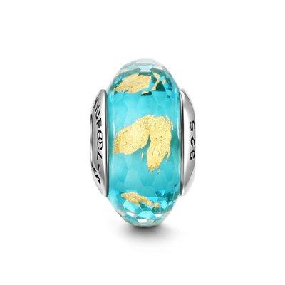 *現貨*SOUFEEL (PANDORA通用) 索菲爾 925 純銀 串珠  琉珠系列 慕拉諾琉璃珠 海浪沙灘