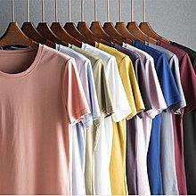 〥KVLOVE SHOP-T〥外單 必入款 多色圓領舒適絲光棉短袖T 11色〥特價