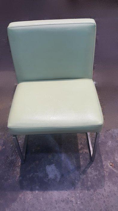 樂居二手家具 E0309HJE 綠色餐椅 洽談椅 書桌椅 電腦椅 會客椅 2手各式桌椅拍賣【全新中古家具家電賣場】