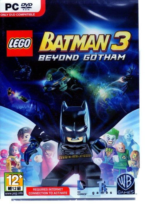 現貨中 PC 遊戲  樂高蝙蝠俠 3 飛越高譚市 LEGO Batman 3 英文版 【板橋魔力】