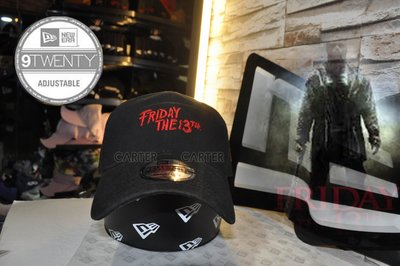 New Era x Scary Movie Friday the 13th 9Fifty 十三號星期五黑色老帽