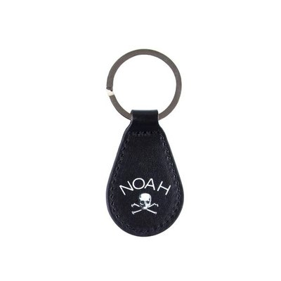 OAK  NOAH DELIVER US FROM EVIL LEATHER KEYCHAIN 鑰匙圈