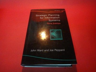 【愛悅二手書坊 27-11】Strategic Planning for Information Systems