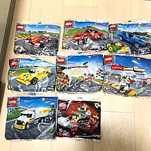 Lego Ferrari Shell V-Power 限量版 30196,40190,40191,40192,40193,40194,40195,40196
