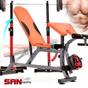 多角度調整型舉重椅+二頭肌板重量訓練機啞鈴椅舉重床仰臥起坐板健腹機健腹器臥推椅啞鈴凳子訓練椅C177-6016【推薦+】