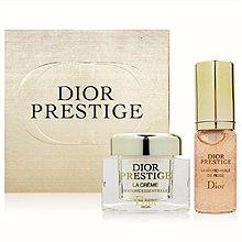Dior 迪奧 精萃再生花蜜微導精露 5ml 按壓式+精萃再生花蜜乳霜 5ml