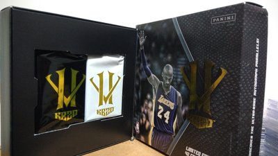 2015-16 KOBE BRYANT HERO VILLAIN 紀念套卡42張 & 5張亮面特卡 & 含原盒(已拆封)