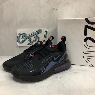 【老鞋頭】 Nike Air Max 270 Throwback Future 氣墊 黑紫 變色龍 AH8050 020