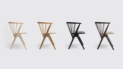 芊華苑專業客製化設計︱訂製傢俱︱近原裝SIBAST 8號溫莎椅︱獨特Y形椅腿餐椅︱2019年德國設計大獎︱實木餐椅