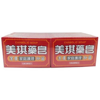 美琪 藥皂 100gX6入 4710201117044 (超商最多放8組)