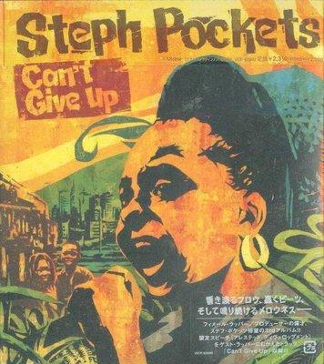 K - Steph Pockets - Can't Give Up - 日版 Digipak - NEW