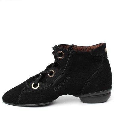 Afa安法國標舞鞋/拉丁舞鞋~~多功能運動舞鞋 原價$2,300~~70503 黑色麂皮 特價$990