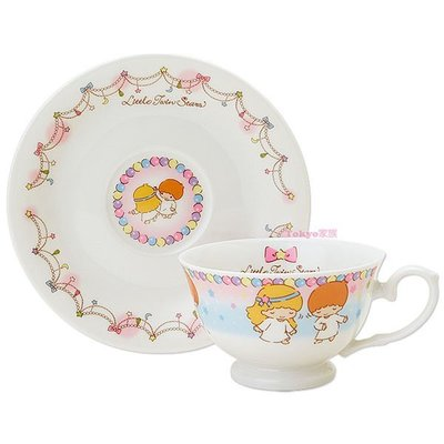 東京家族 雙子星 40週年紀念 咖啡杯盤組