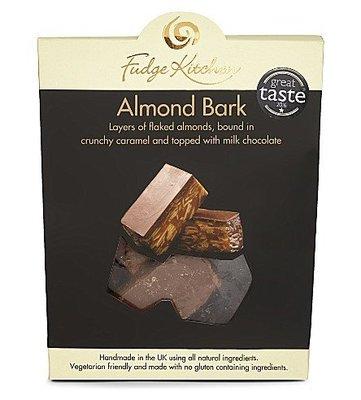[要預購] 英國代購 英國FUDGE KITCHEN Almond Bark 150g