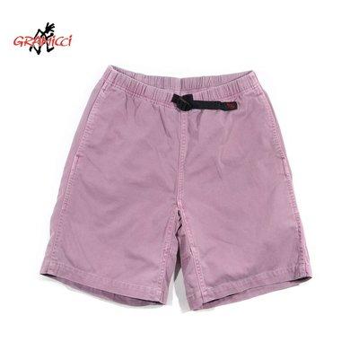 Gramicci Purple Washed Work Shorts 淺紫 M 小野人 伸縮 腰帶 短褲 膝上褲 戶外