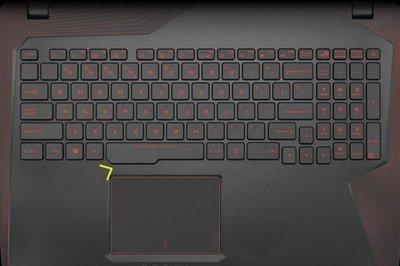 *金輝*華碩ASUS GL553 GL553VD 鍵盤膜GL553VE GL553VW GL553VX 保護膜 嘉義縣