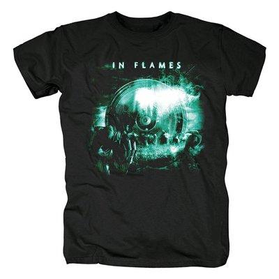 瑞典in flames 哥德堡之聲 前衛金屬  瑞典流行金屬 死亡金屬T恤