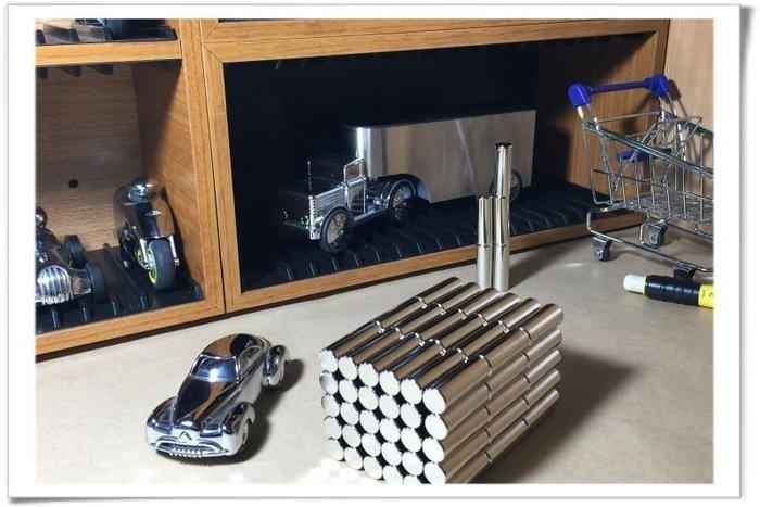 強力磁鐵圓柱體10mmx30mm-適合當五金配件或是開發商品用!