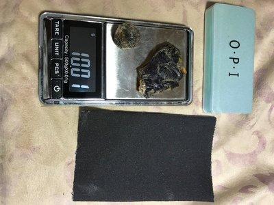 天然藍珀原礦DIY 附工具