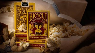 【USPCC 撲克】撲克牌 BICYCLE sideshow freaks