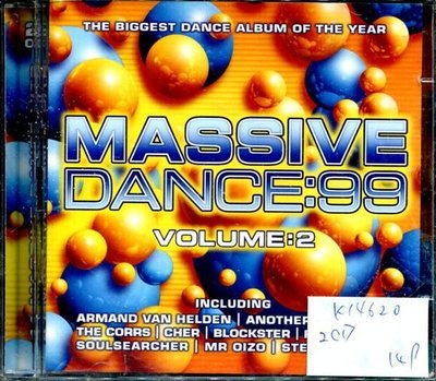 *真音樂* MASSIVE / DANCE:99 2CD 全新 K14620