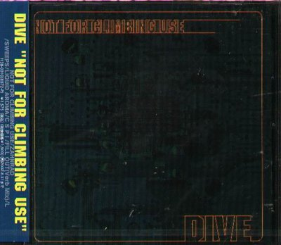 K - DIVE - NOT FOR CLIMBING USE - 日版 - NEW