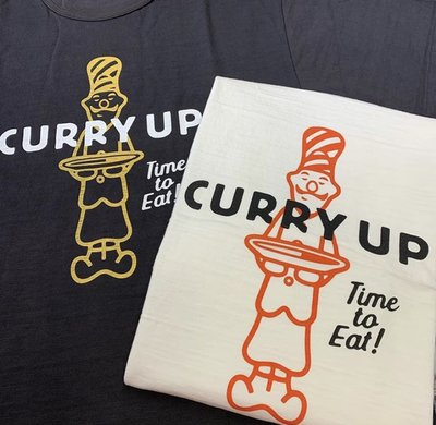 XinmOOn HUMAN MADE CURRY UP TEE TIME TO EAT 咖哩 經典 上衣 短T 廚師