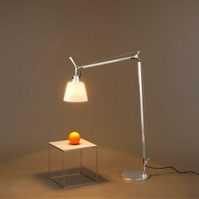 Maison de luxe Artemide TOLOMEO BASCULANTE FLOOR 經典羊皮紙色燈罩立燈
