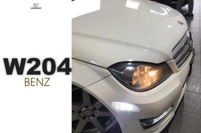 JY MOTOR 車身套件`- BENZ W204 C250 小改款 12 13 年 美規 前保桿 晶鑽 側燈 前保側燈