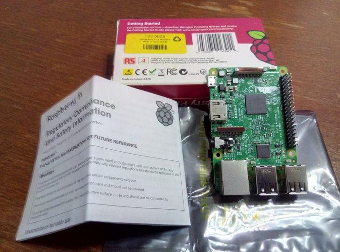 3C-Rspberry Pi 3    ..........NT$ 790