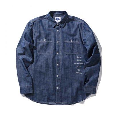 【日貨代購CITY】2017SS MADNESS CHAMBRAY SHIRT 余文樂 丹寧 襯衫 2色 深藍 現貨