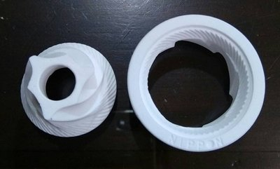 【米拉羅咖啡】NIPPON 原廠公司貨 手搖式磨豆機陶瓷錐形磨刀【上下刀盤組】與iwaki Porlex可通用