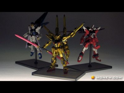 gundam collection meteor seed 1/400 orb-01 曉 上色