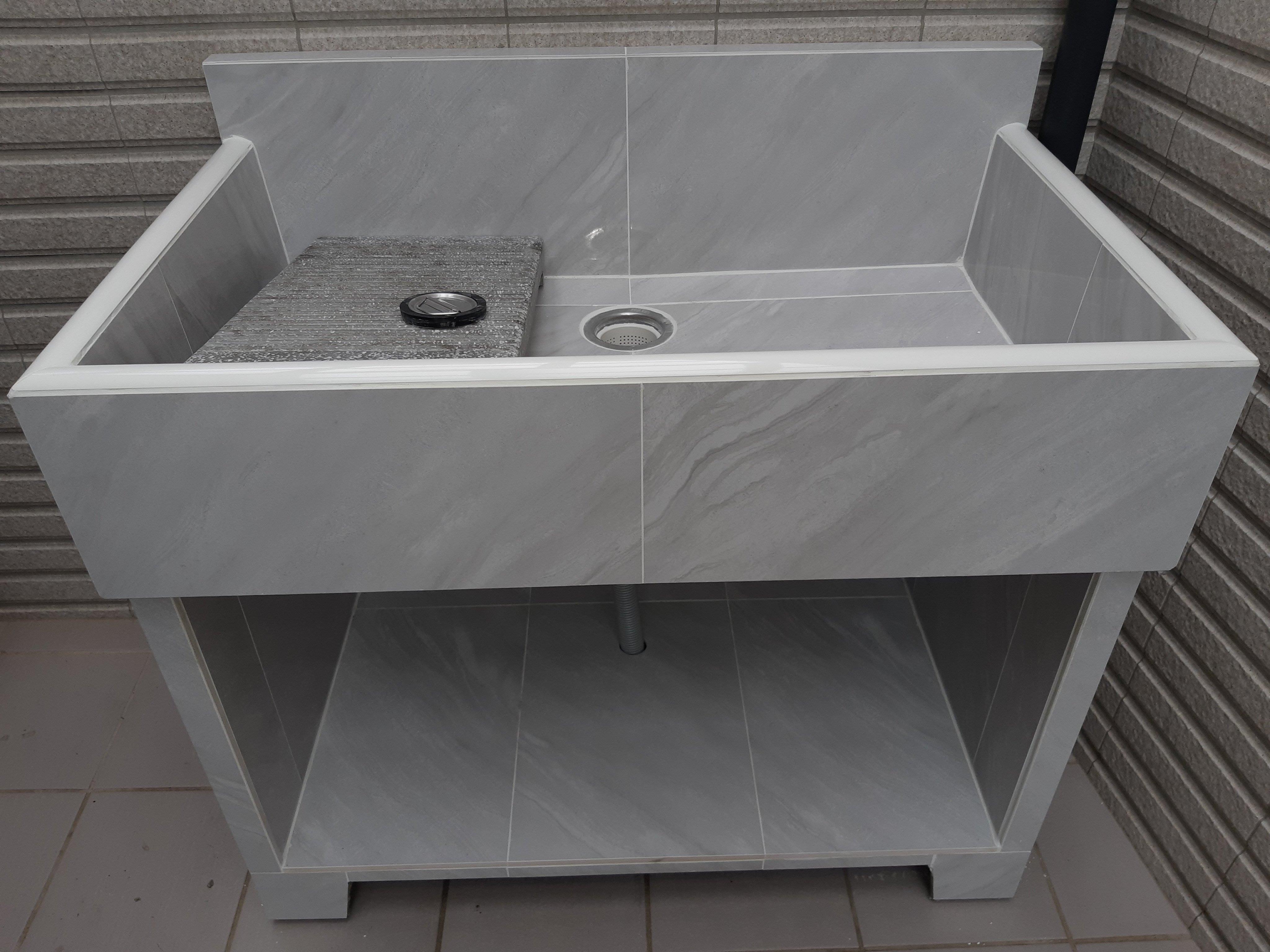 【元利洗衣台】洗衣槽,洗手台,預售屋,水泥水槽,洗衣台